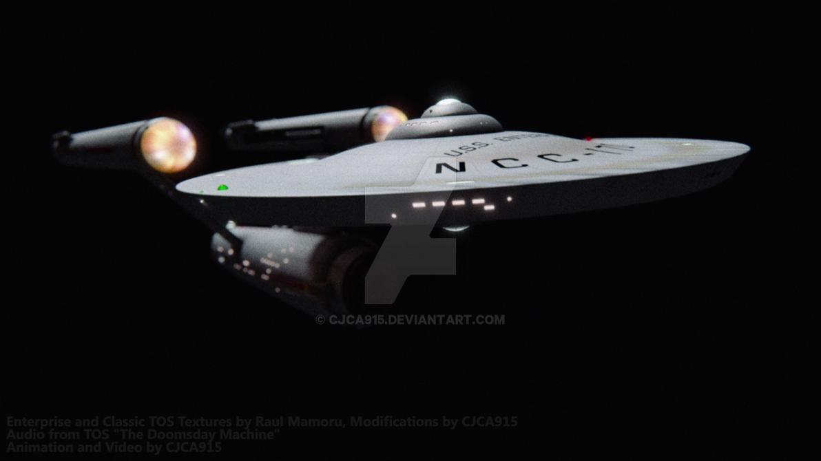 The Doomsday Machine - Enterprise Test Render 1 by Chris2027
