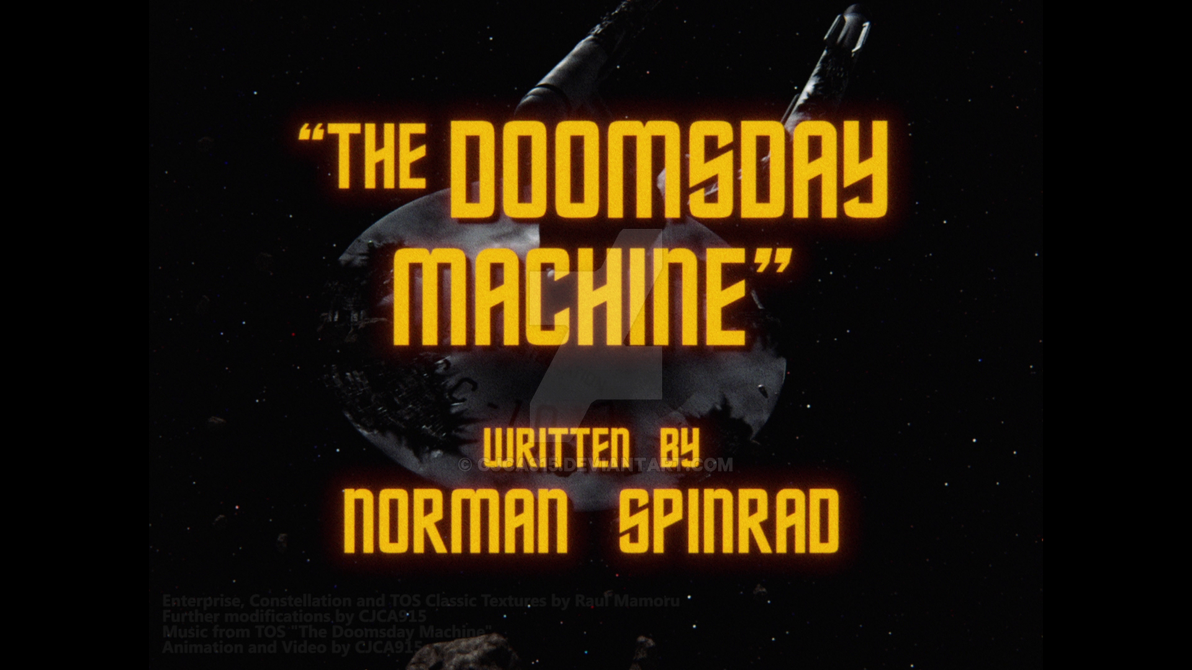 (My VFX) TOS - The Doomsday Machine WIP3 by Chris2027