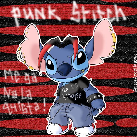 Punk Stitch by angel-maxwell