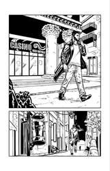 B/W Test page No. 1 by StefanoSpaziani