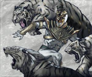 Go Go Tiger Ranger! by StefanoSpaziani