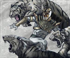 Go Go Tiger Ranger!