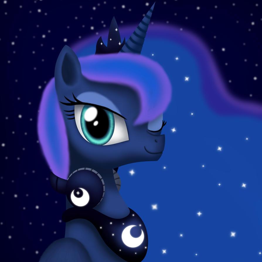 Gamer Luna by Gennbu on DeviantArt