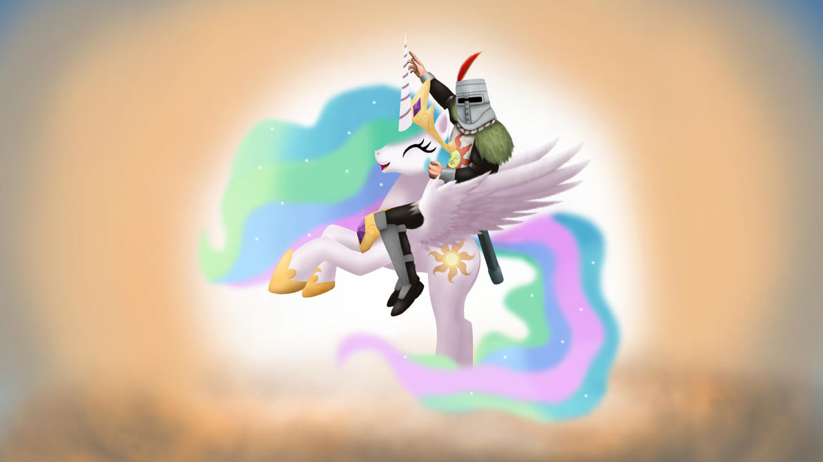 Celestia and Solaire: Praise The Sun Forever! by Gennbu