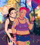 Happy Pride Month from Mimi and Vera!