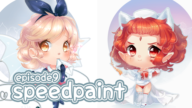 Chibi Speedpaints by ehbi
