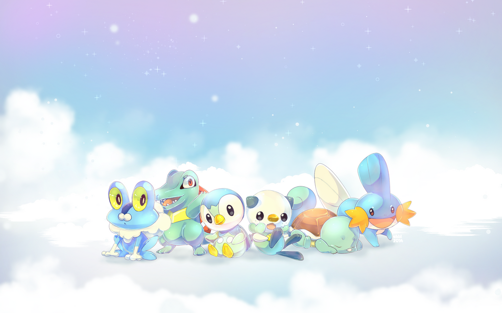 All Hoenn Starter Pokemon | Wallpaper Gallery