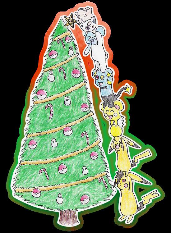 A Pokemon Christmas Tree by chemicaRouge on DeviantArt