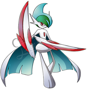[Pokemon] Mega Gallade