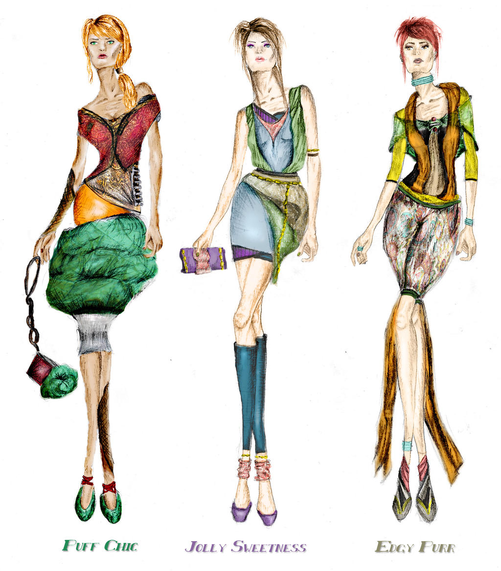 fashion sketches collection by elegance2255 on deviantart