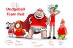 Omniverse Dispute Dodgeball Team Red