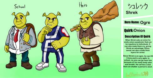 If Shrek was in MHA