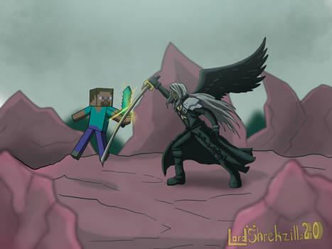 Steve vs Sephiroth