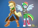 EG/MV: Applejack and Rainbow Dash