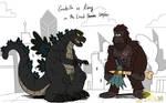 Godzilla vs Kong in LH style