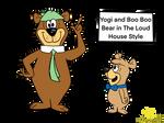 Yogi Bear and Boo Boo in LH style