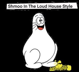 Shmoo in The Loud House style: JekyllandHydeChanne