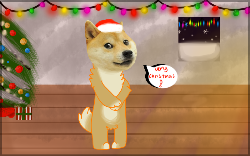 doge shibe wish you a very good christmas by punk mutt - Christmas Doge