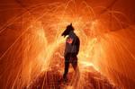 Crazy Horsehead Man
