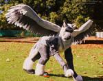 Guardian Angel   - Raphael Quadsuit- by TrelDaWolf