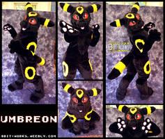 Umbreon -digitigrade fursuit-