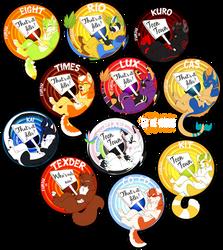 FurDu 2016 badges!