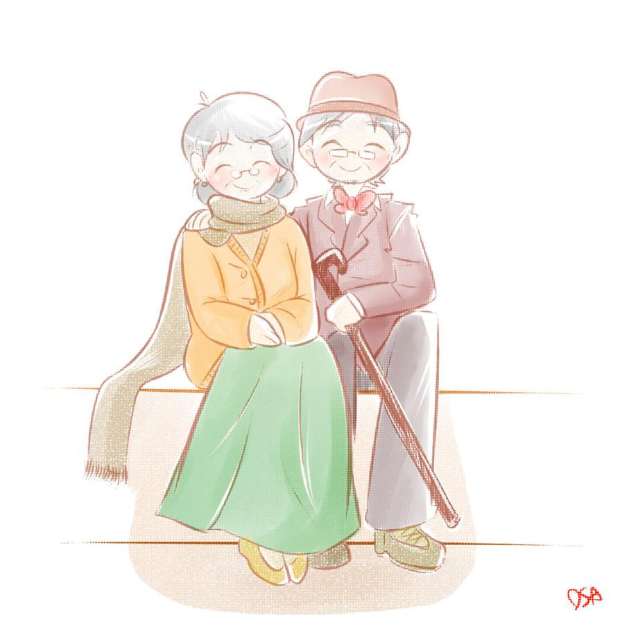 Love Till Old by hujikari