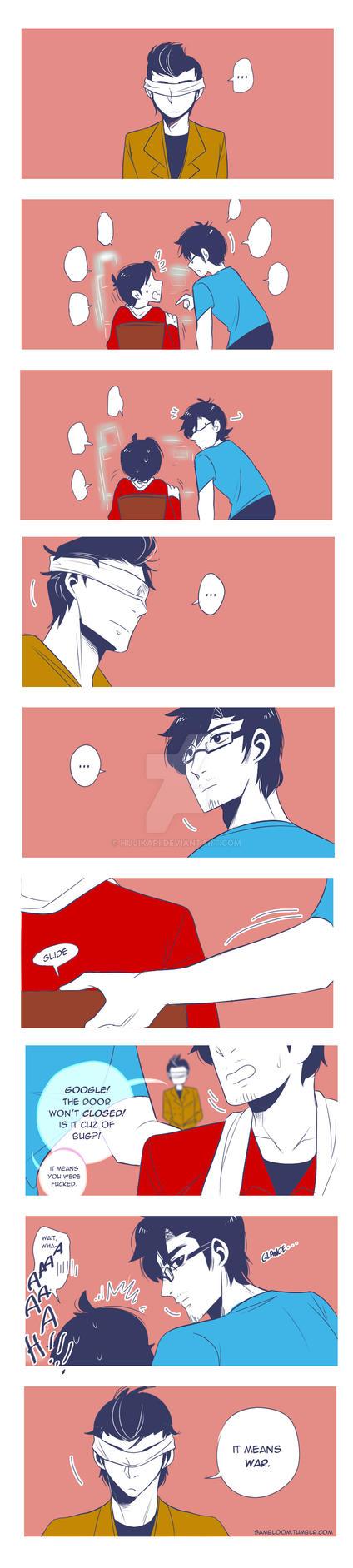 Triangle Love by hujikari