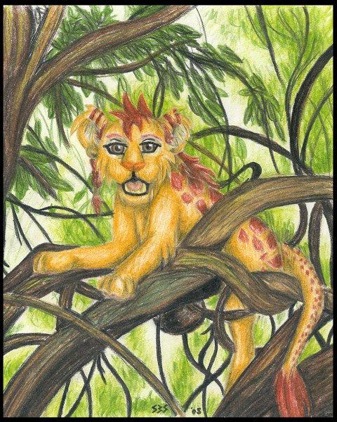 Akir in the trees by sbslink