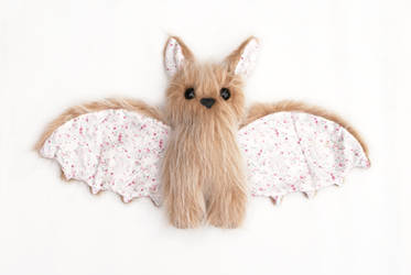 Cute Bat Plush by Daeaye