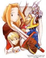 Final Fantasy Tactics Fanart by evikted