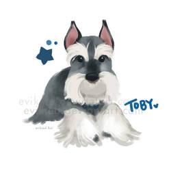 Lovely Toby by evikted