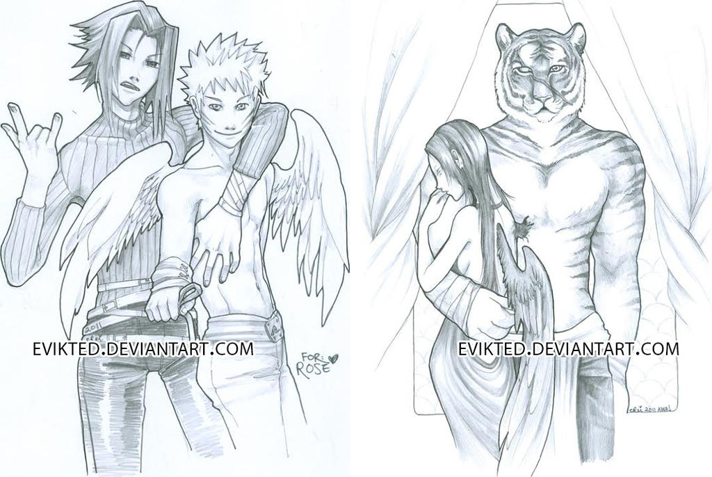 Awa 2011 commissions by evikted