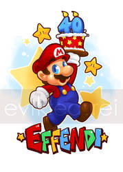 Mario 40 by evikted
