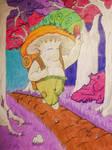 Shroomkin on a journey