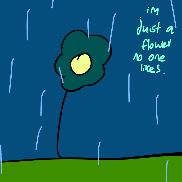 A stupid flower by Tru3Happiness