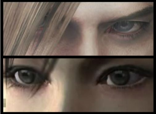 Leon/Ada Eyes by living-end