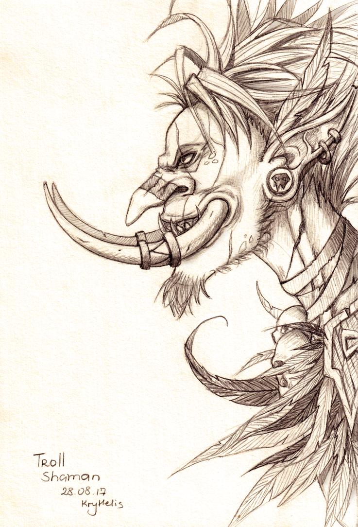 Shaman Troll by Kryhelis