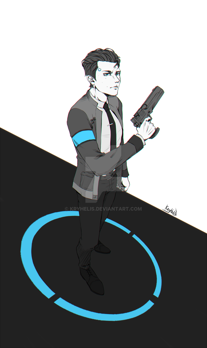 Connor RK800 by Kryhelis