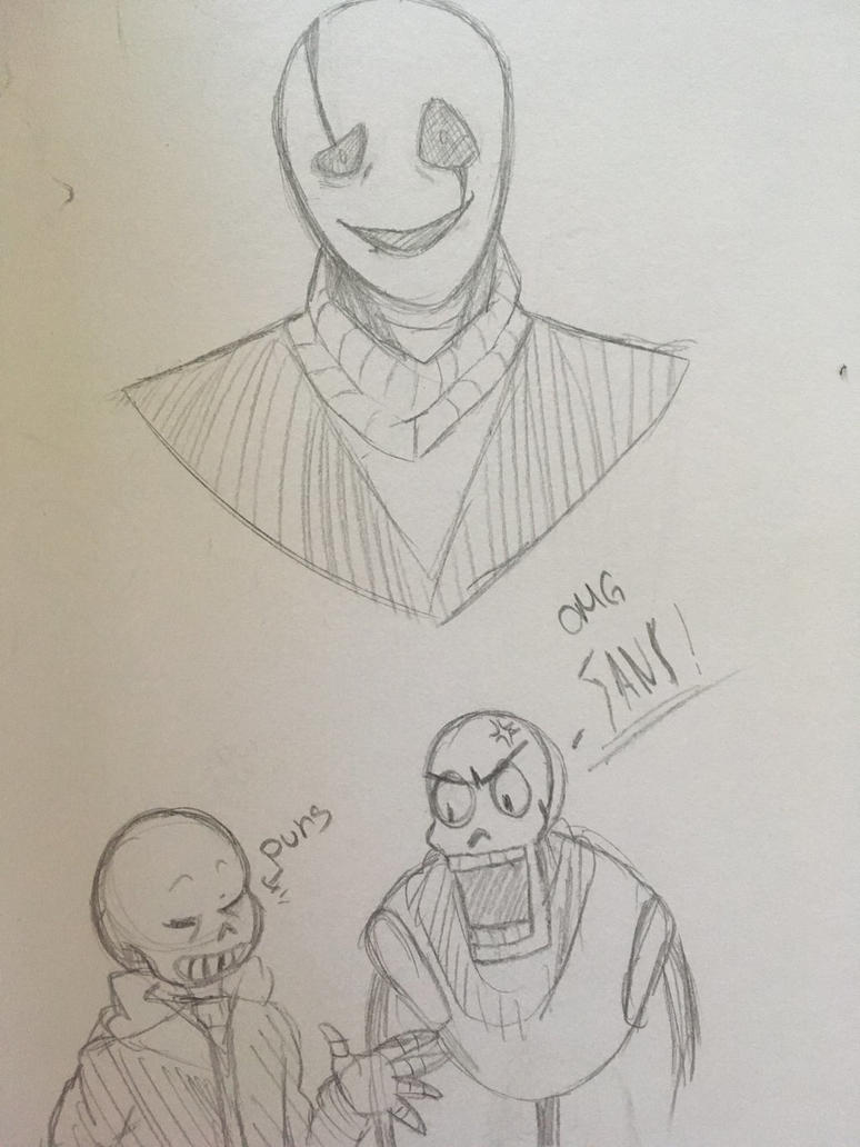 UT doodles  by thelittledefectbot