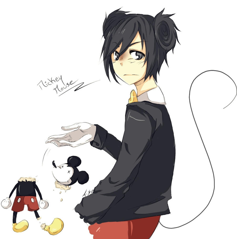 Fanart: Mickey mouse by Fuko-chan on DeviantArt Mickey Mouse Love Drawings