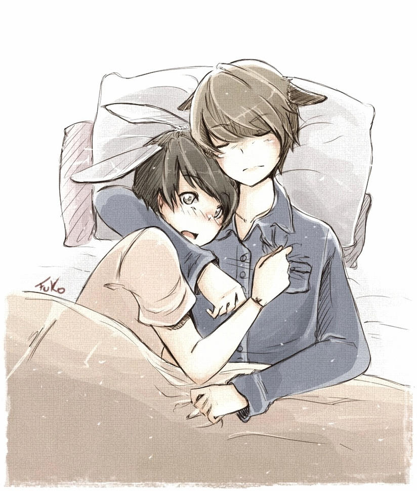 Kyumin - sleep with me by Fuko-chan