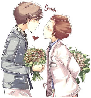 Kyumin  Bouquet love