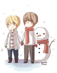 Kyumin - Christmas day