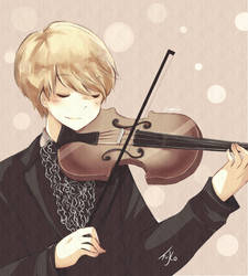 Sungmin and Violin
