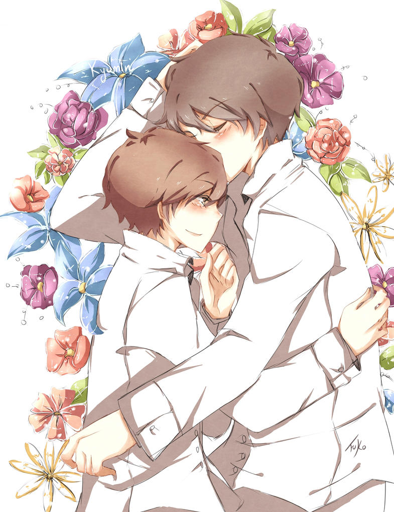 Kyumin: flowers by Fuko-chan