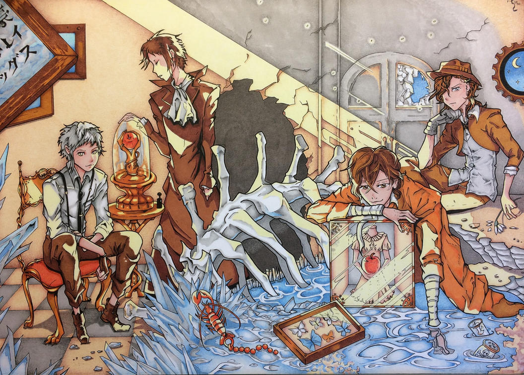 Bungo Stray Dogs by Assink-art