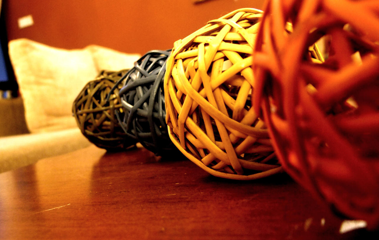 rattan balls... by lordmusan