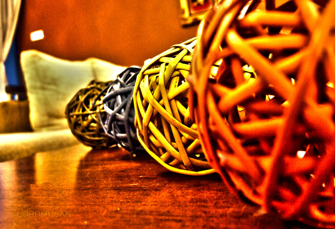 rattan balls IV by lordmusan