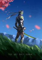 Cyborg Ninja Dude by TheDamn-ThinGuy